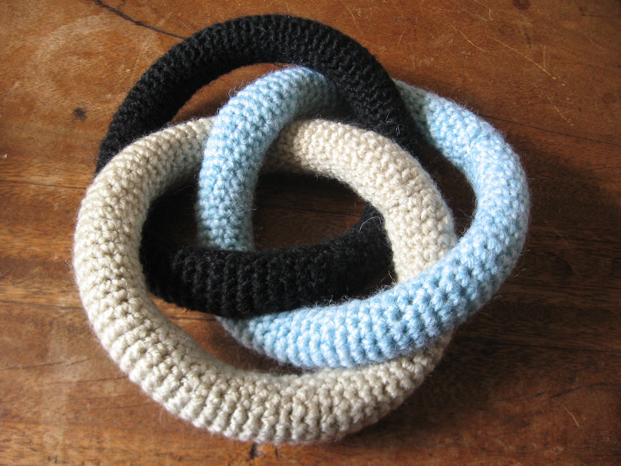 Make your own Borromean rings! (You know you want to.)
