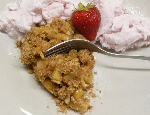 {Collegiate Meals} Stovetop Apple Pie