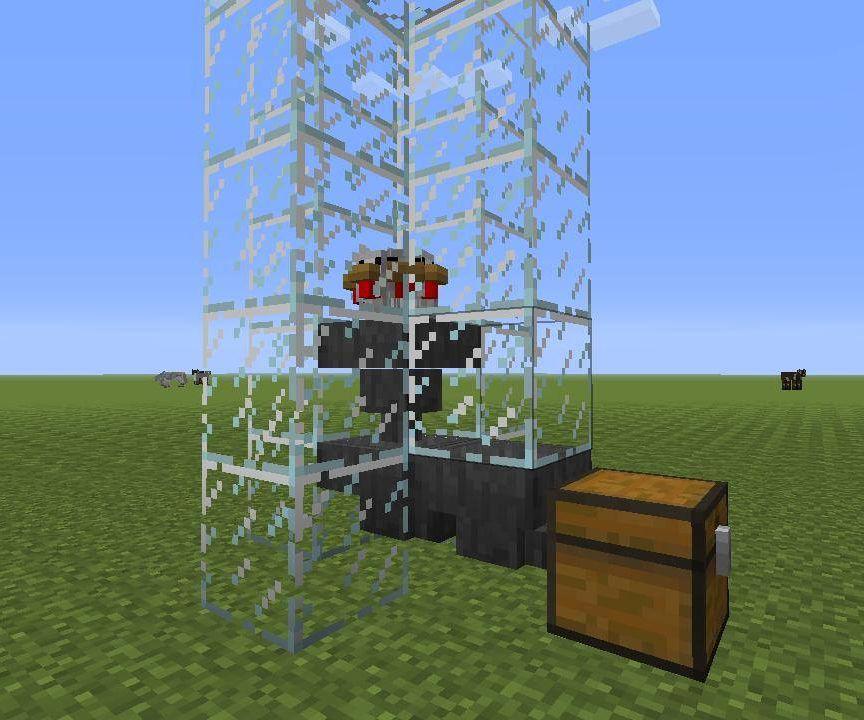 Minecraft Automatic Egg Farm