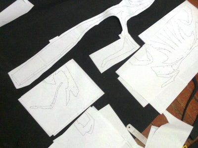 Put Together, Cut & Trace the Patterns