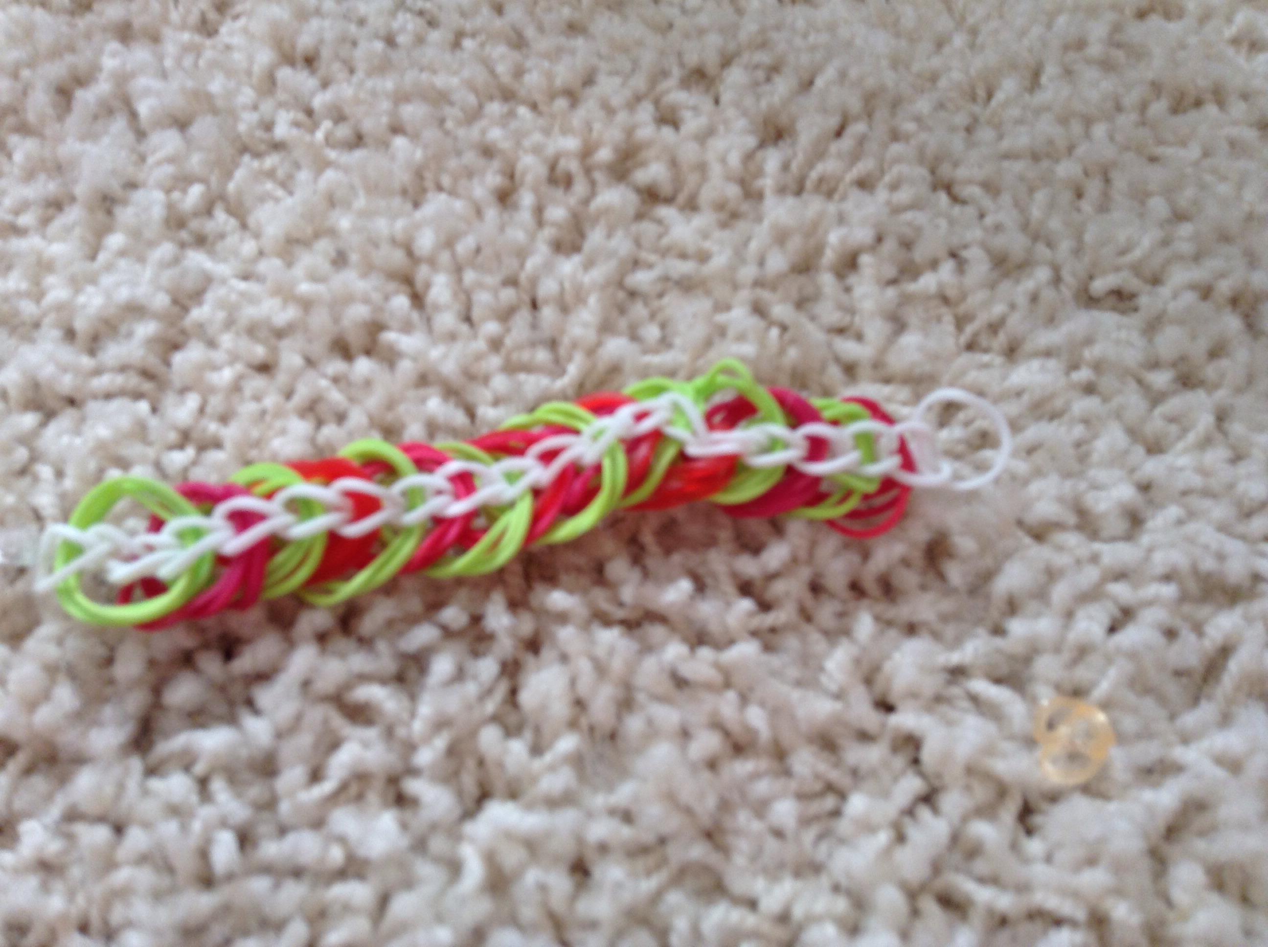 Rainbow Loom Disk Braclet?