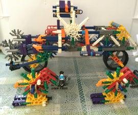 Motor Bike + Spinosaurus Transformers