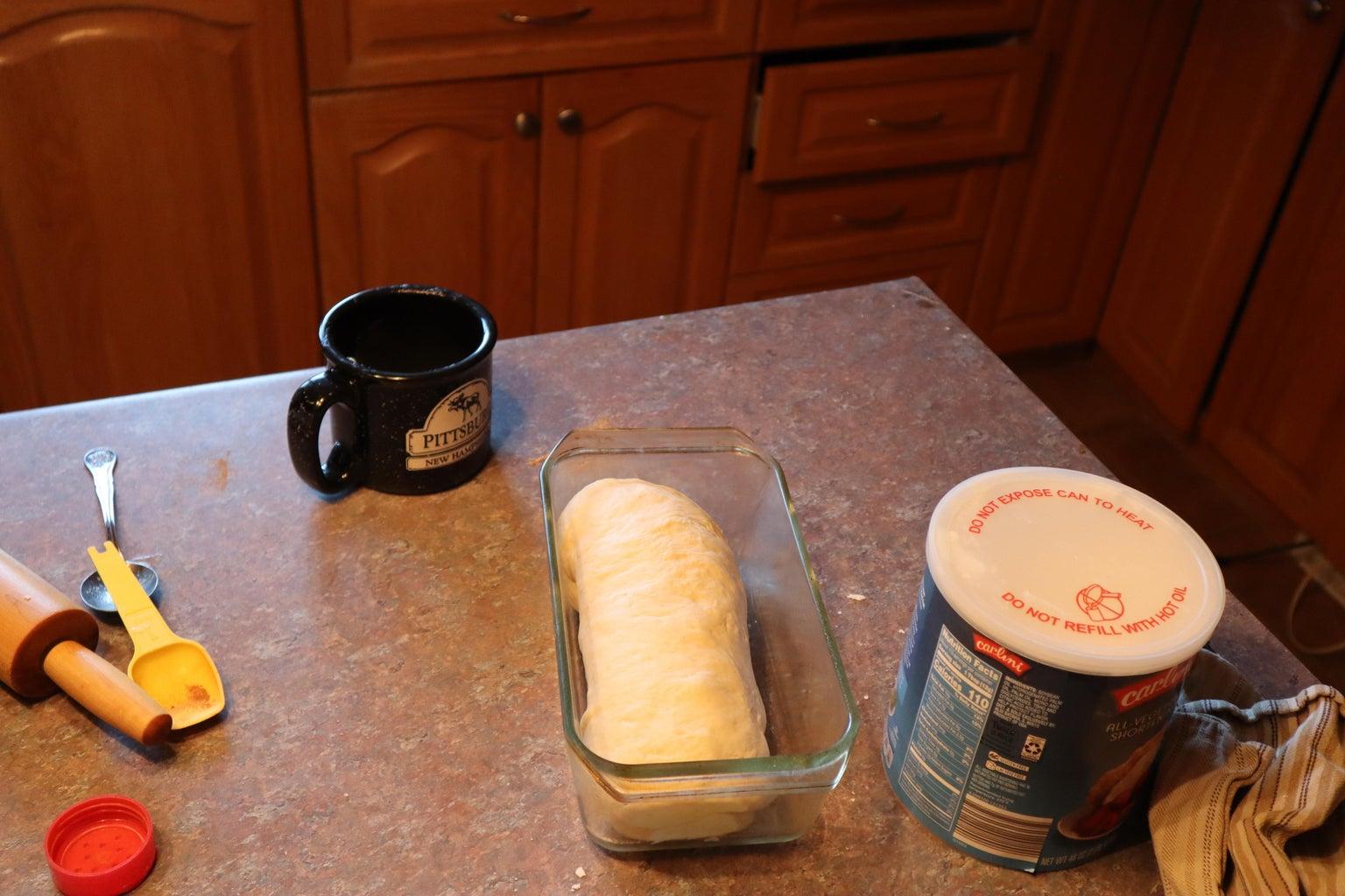 Place Dough in Pan
