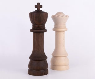 Chess Salt and Pepper Mills