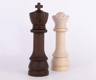 Chess Salt and Pepper Mills