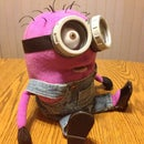 Custom Made Purple Minion Puppet