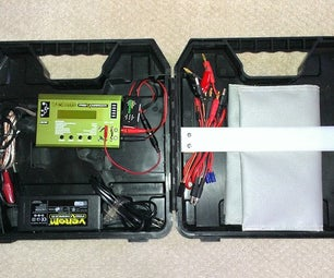 Reuse a Power Tool Case: R/C Battery Charger Case