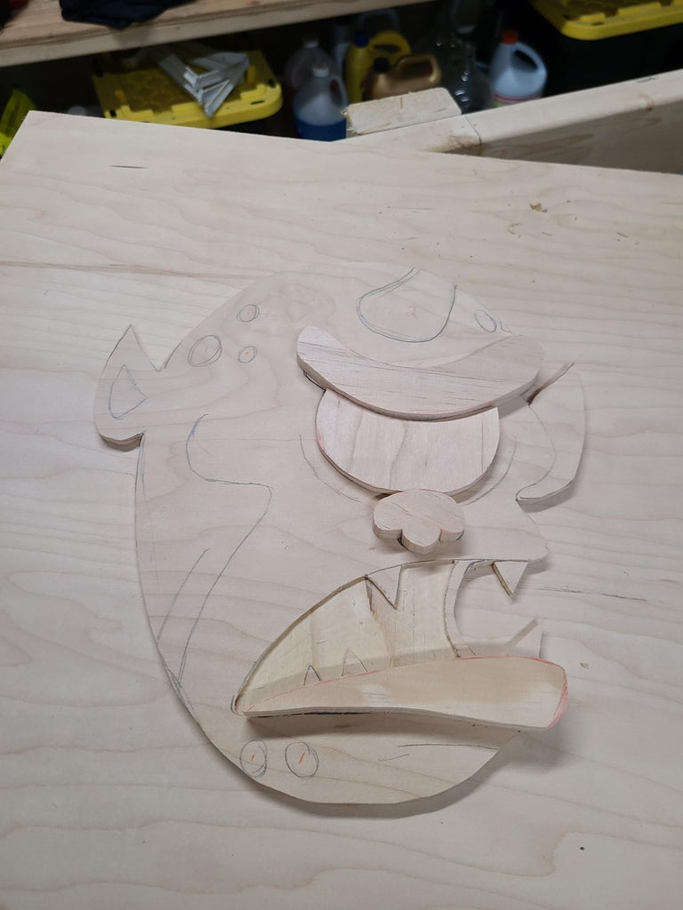 Cutting the Pieces