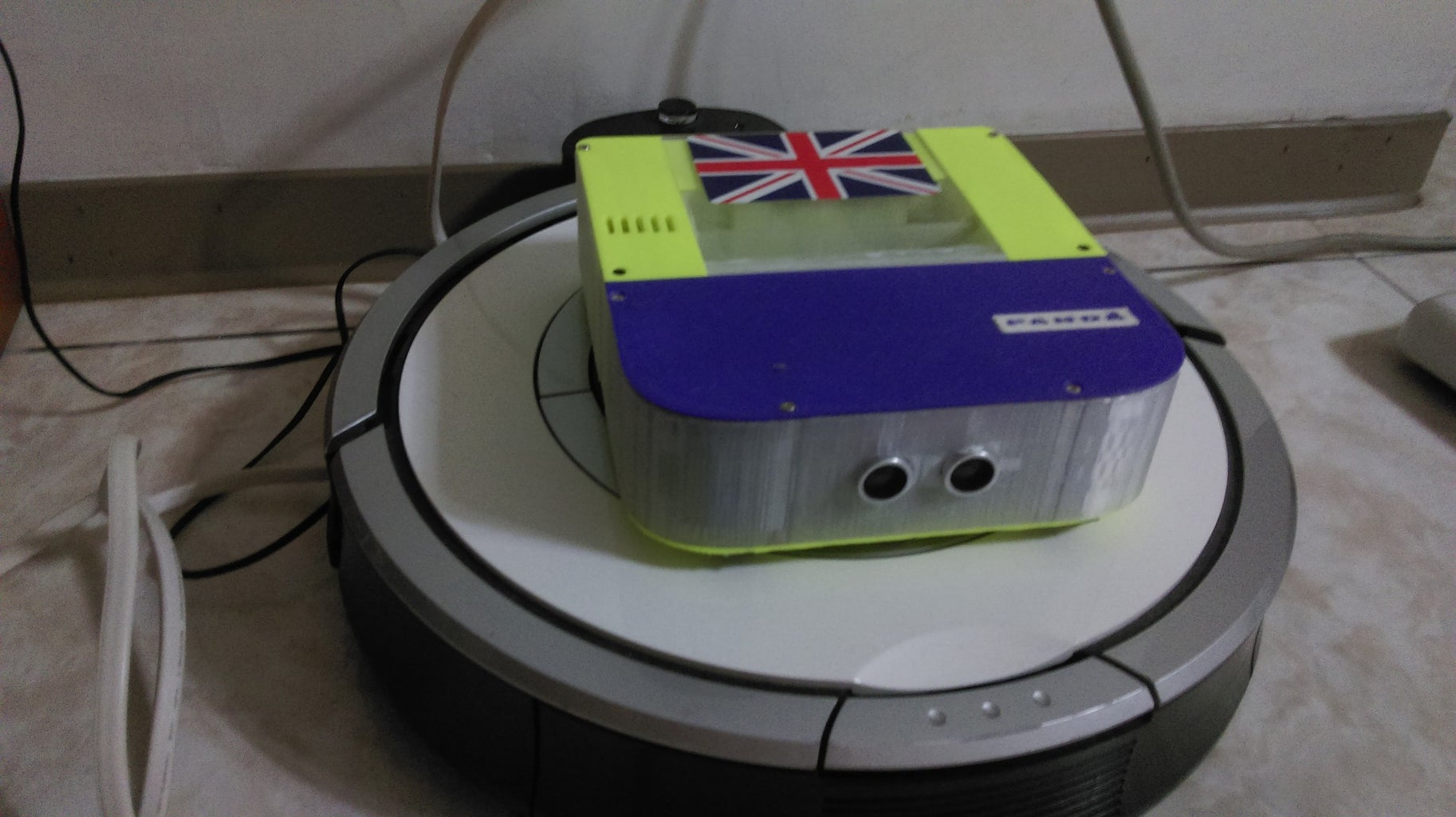 PANDA- THE ULTIMATE CLEANING ROBOT
