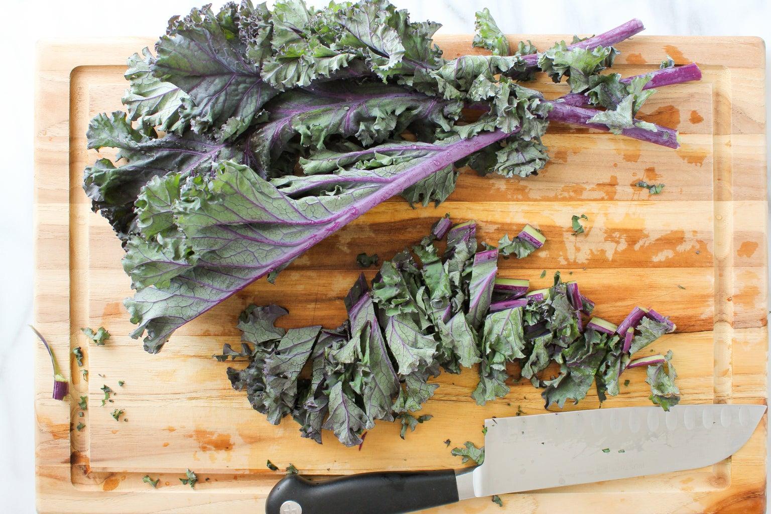 Cut Up the Kale