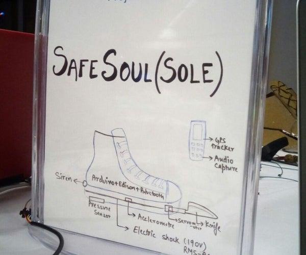 Safe Soul (Intel IoT)
