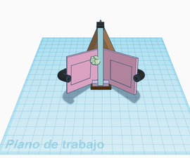 Instructable of Stand and Book Separator With Reading Indicator.