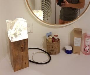 Timeless Resin Lamp