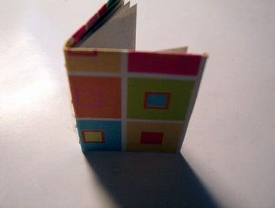 Hand Stitched Mini Book