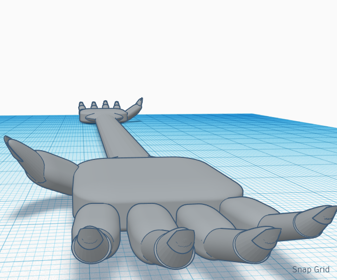 Social Distance Hand Shaker    Tinkercad Silly Solutions