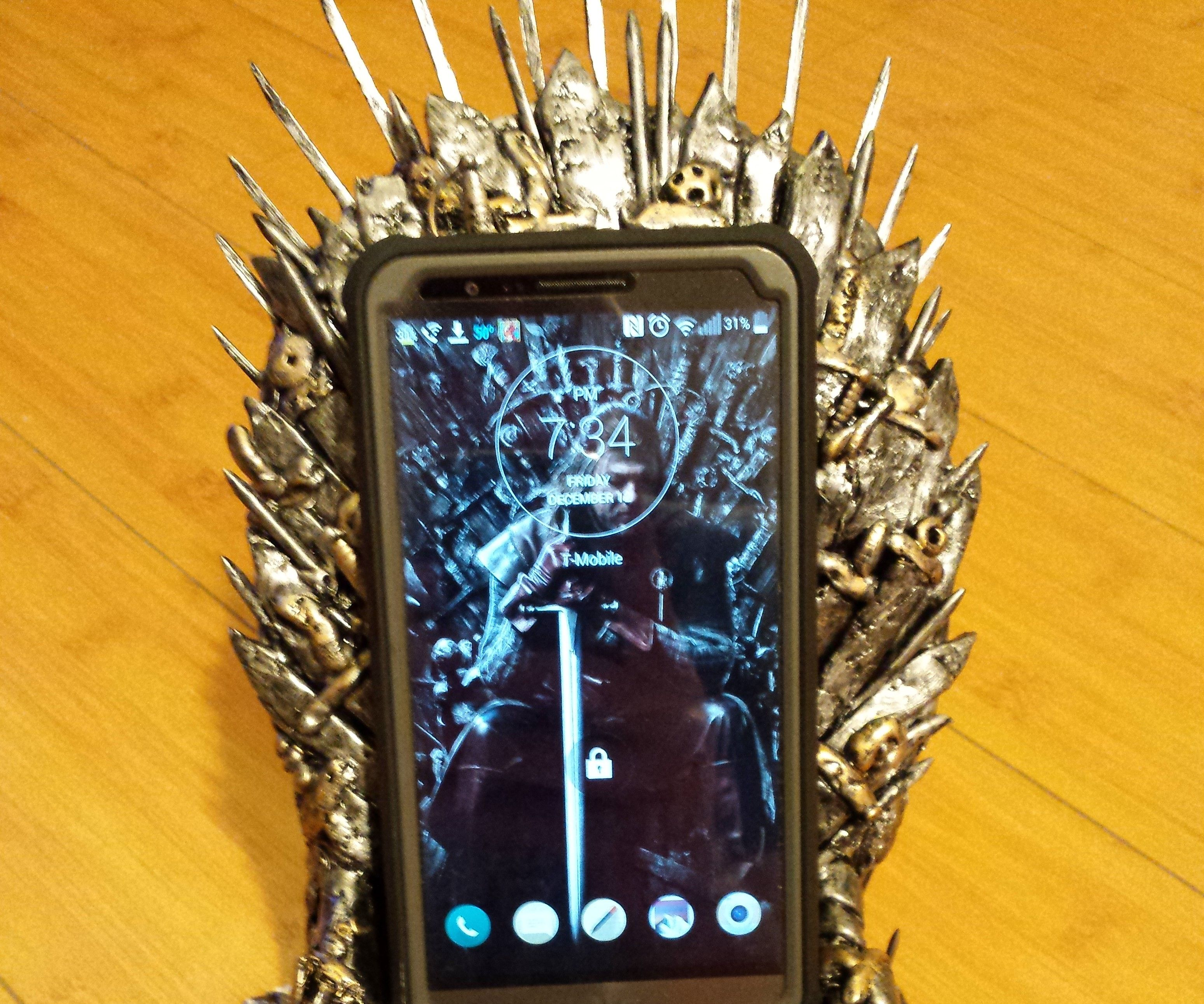 Game of thrones Iron Throne Phone Dock