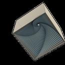 3D Printed Spiral Box Desktop Toy - Using Fusion 360