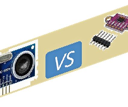 HC-SR04  Vs VL53L0X - Tutorial 1  - Usage for Robot Car Applications