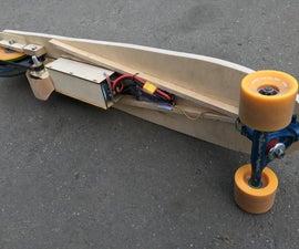 Three-wheel Electric Longboard
