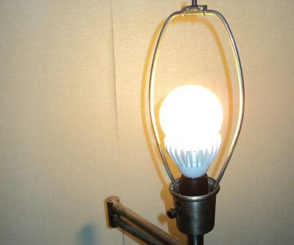 Replace IKEA Lamp Switch