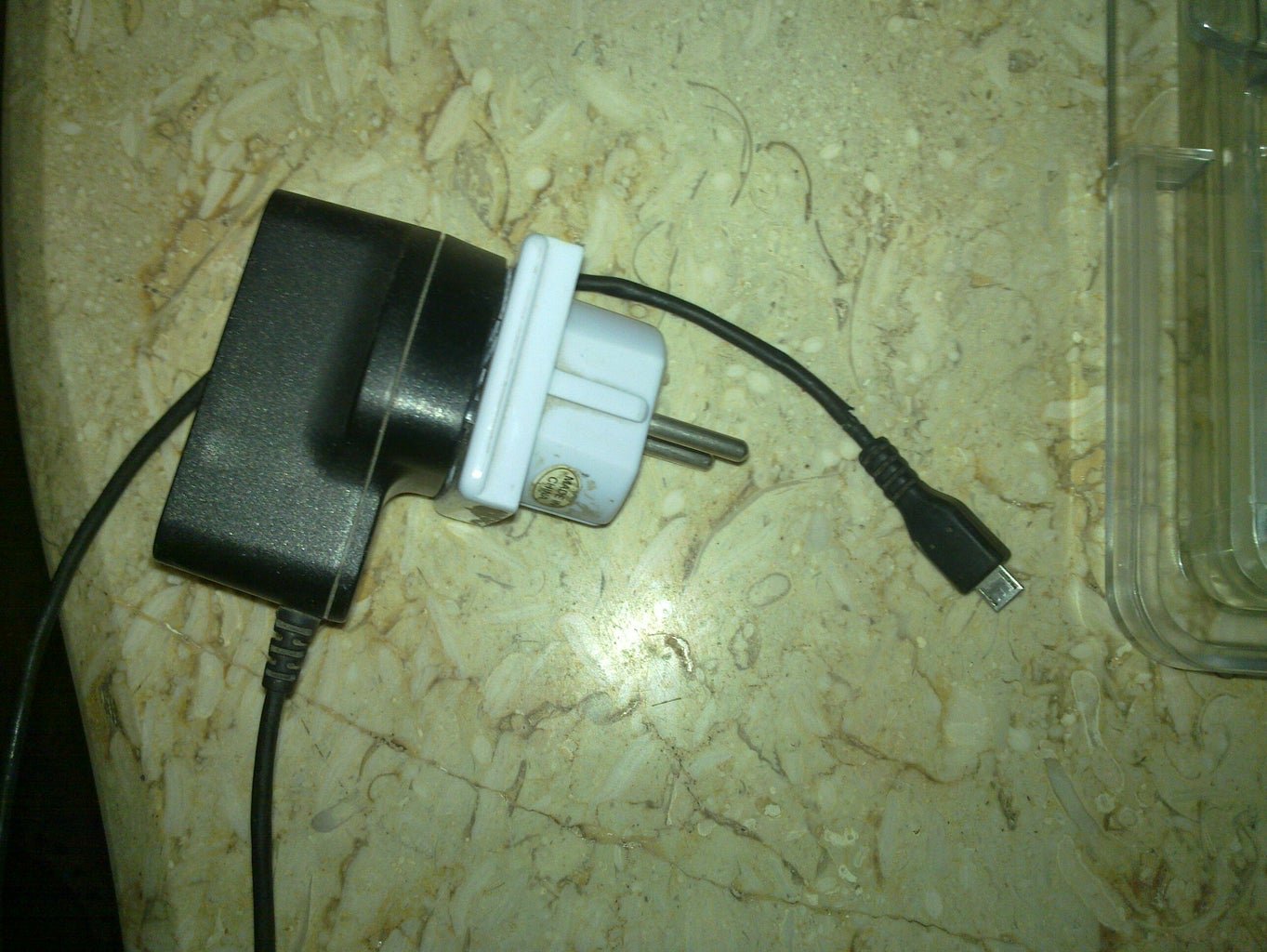 Repairing Nokia Cell Phone Recharger Cable.