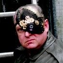 Halloween cyborg  1/4 mask