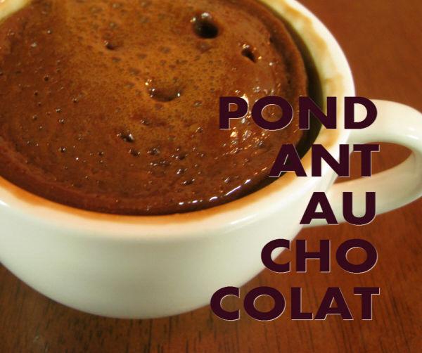 Pondant Au Chocolat - With Microwave