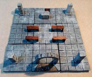 The Sorcerer's Lair - a Modulable Dungeon Decor
