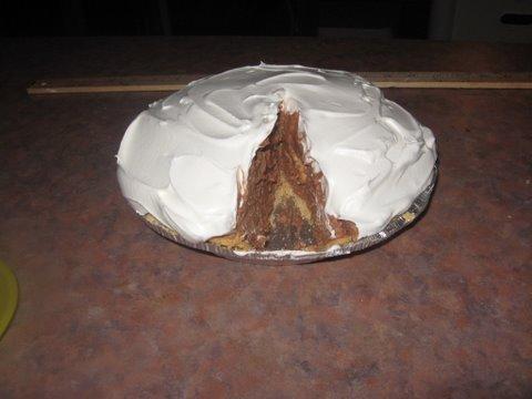 Mile High Chocolate Cream Pie