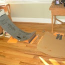 How to make a tech deck landing ramp for your mega ramp