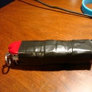 Make a simple pocketknife case/pouch in under 10 minutes!!!