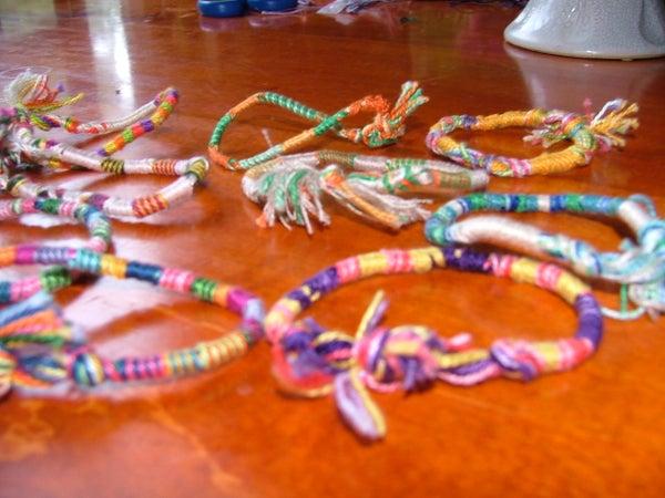 Wrapped Friendship Bracelet