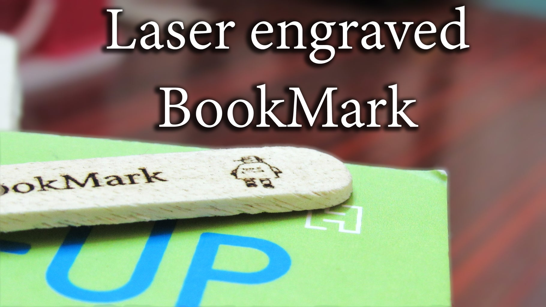 Engraving Wood /Popsicle Stick
