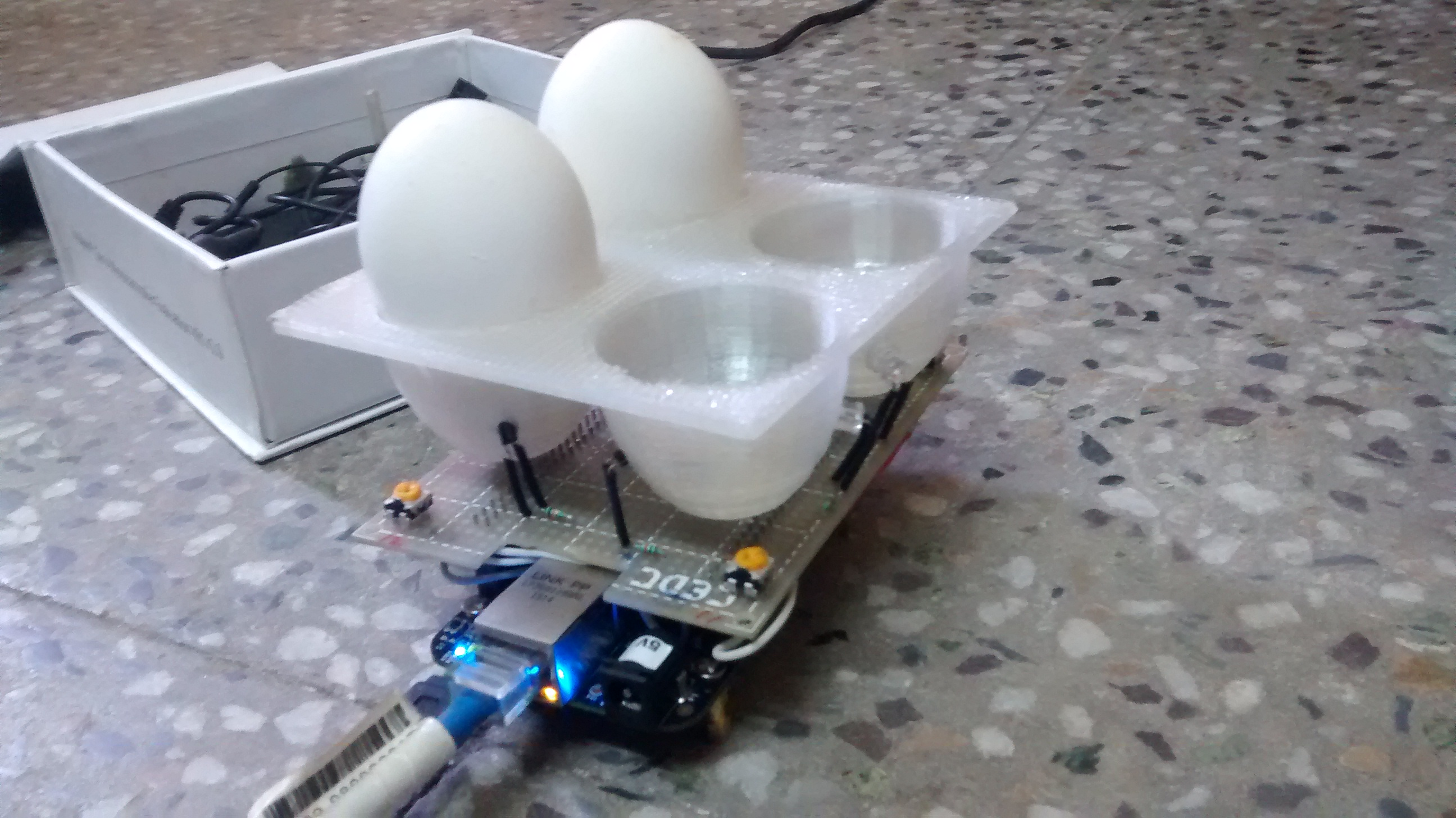 IoT Enabled Egg Tray