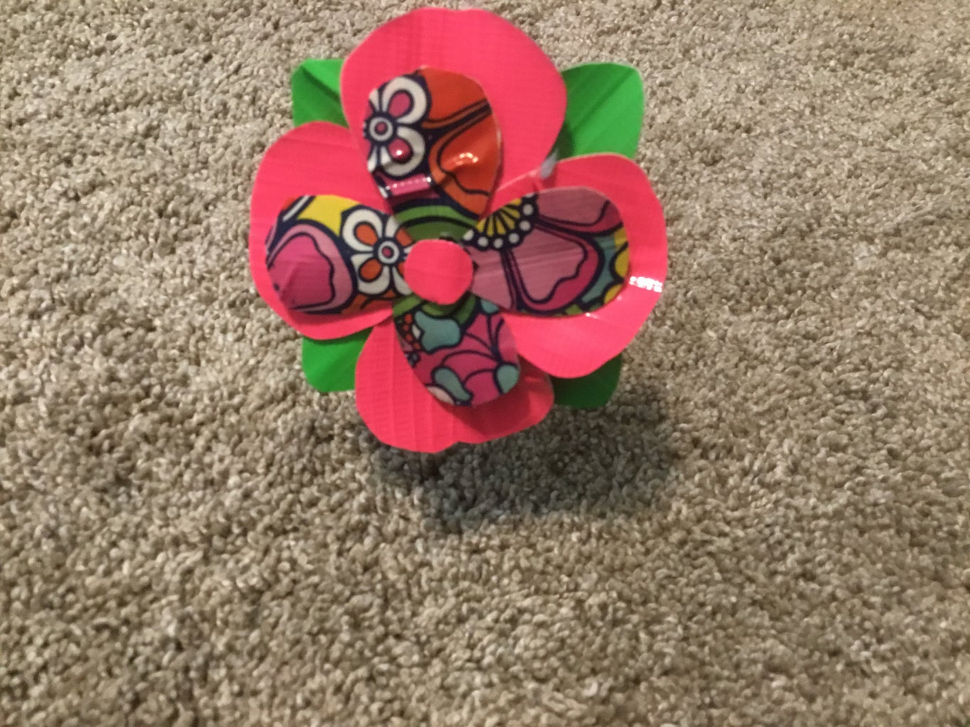 Duct-tape Flower
