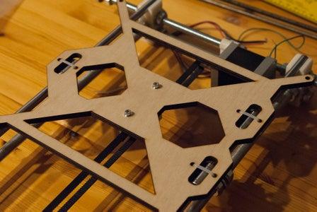 Y-Motor, Build Frame and Belts