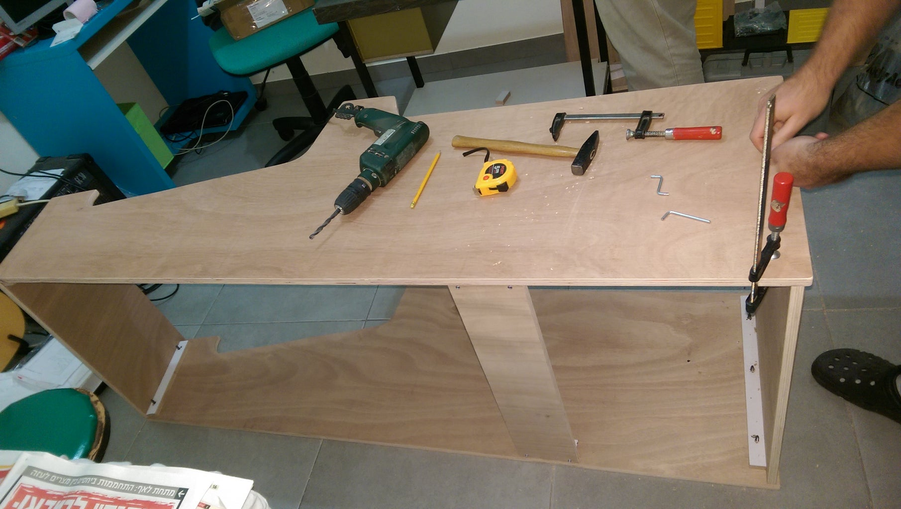 Building the Cabinet