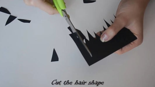 Cut the Hair Shape!