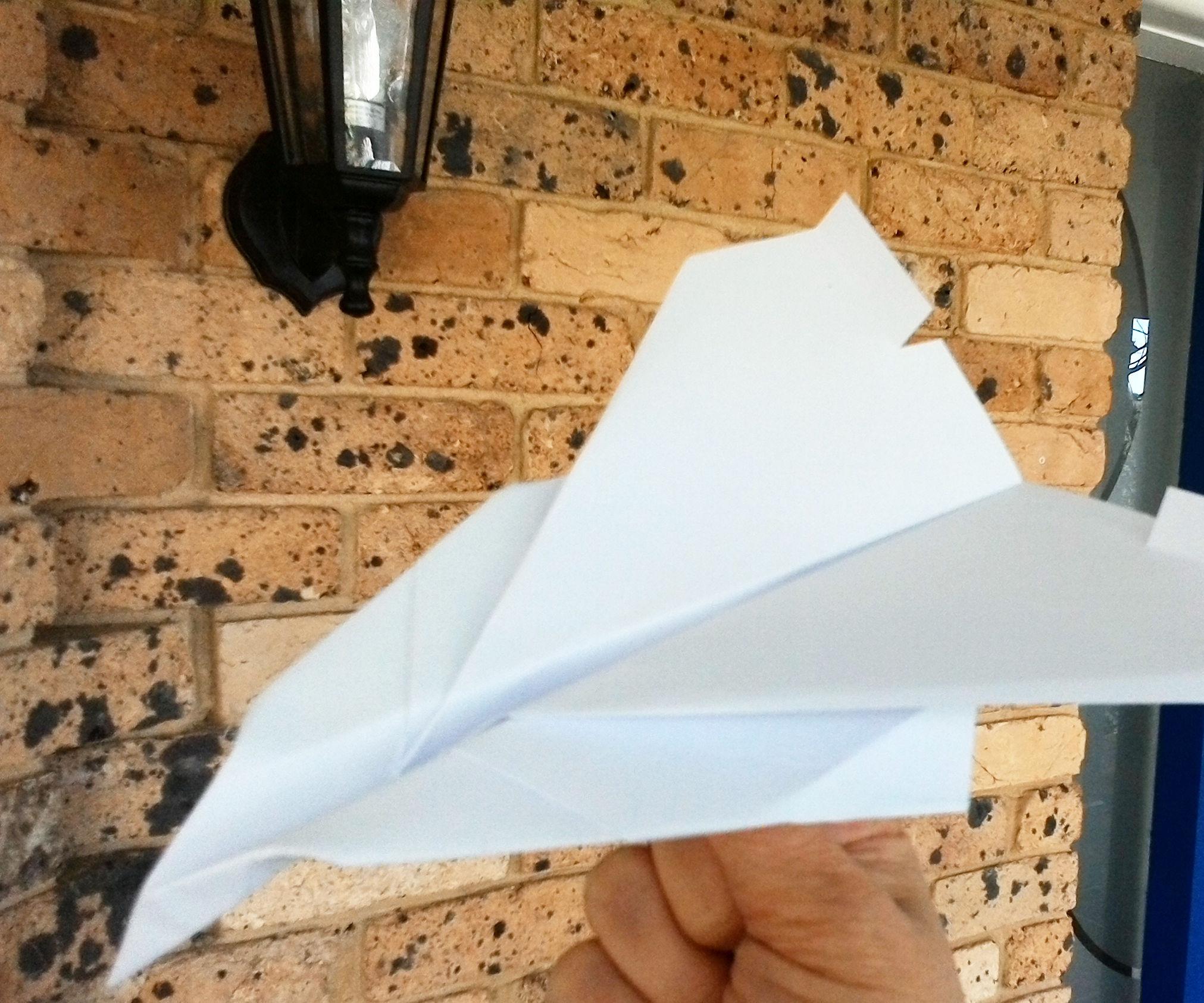 Paper Concorde That Flies