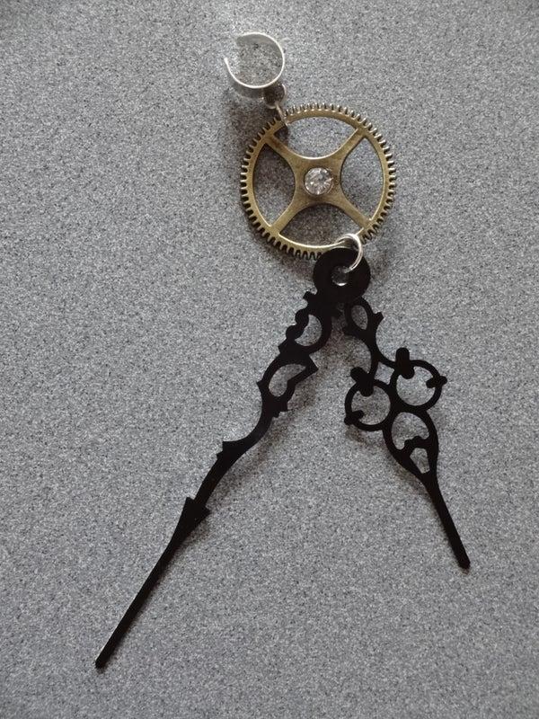 Clockwork/Steampunk Ear Cuff Earring