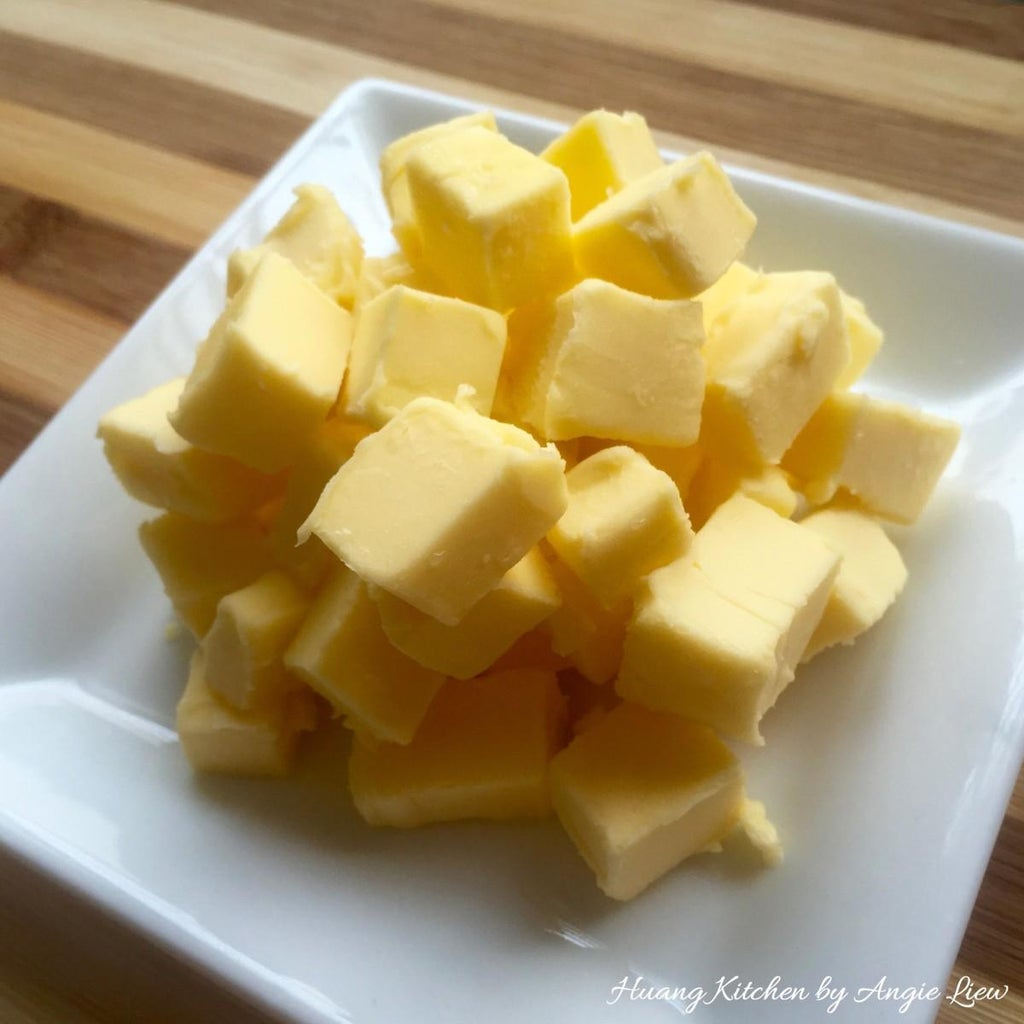 Cut Butter Into Small Cubes.