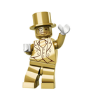 mr gold lego