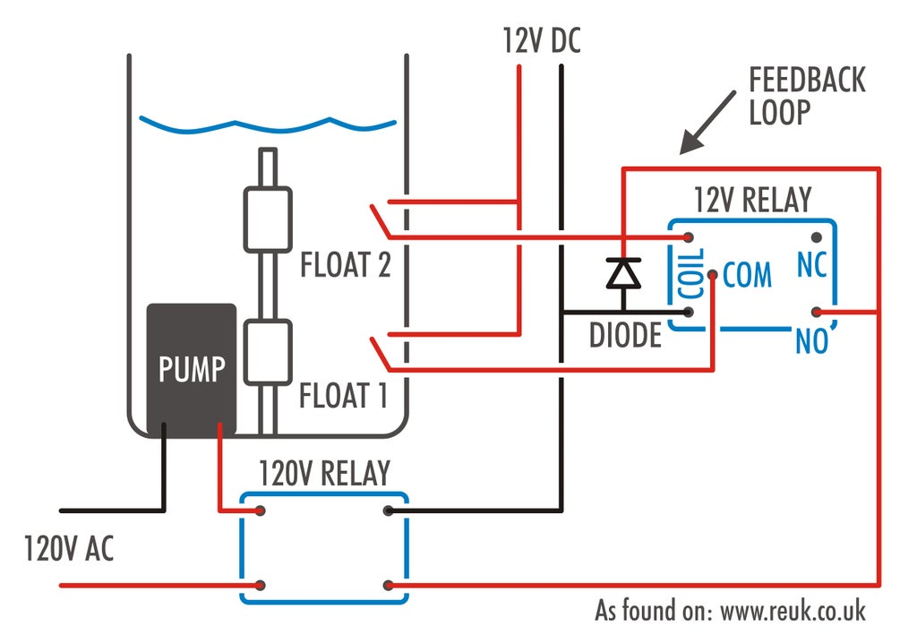 Simple Pump Controller and Circuit : 13 Steps (with Pictures) -  Instructables | Pump Control Schematic |  | Instructables