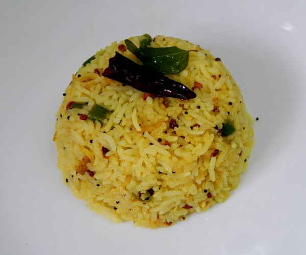 Quick Lemon Rice (from Leftover Rice)