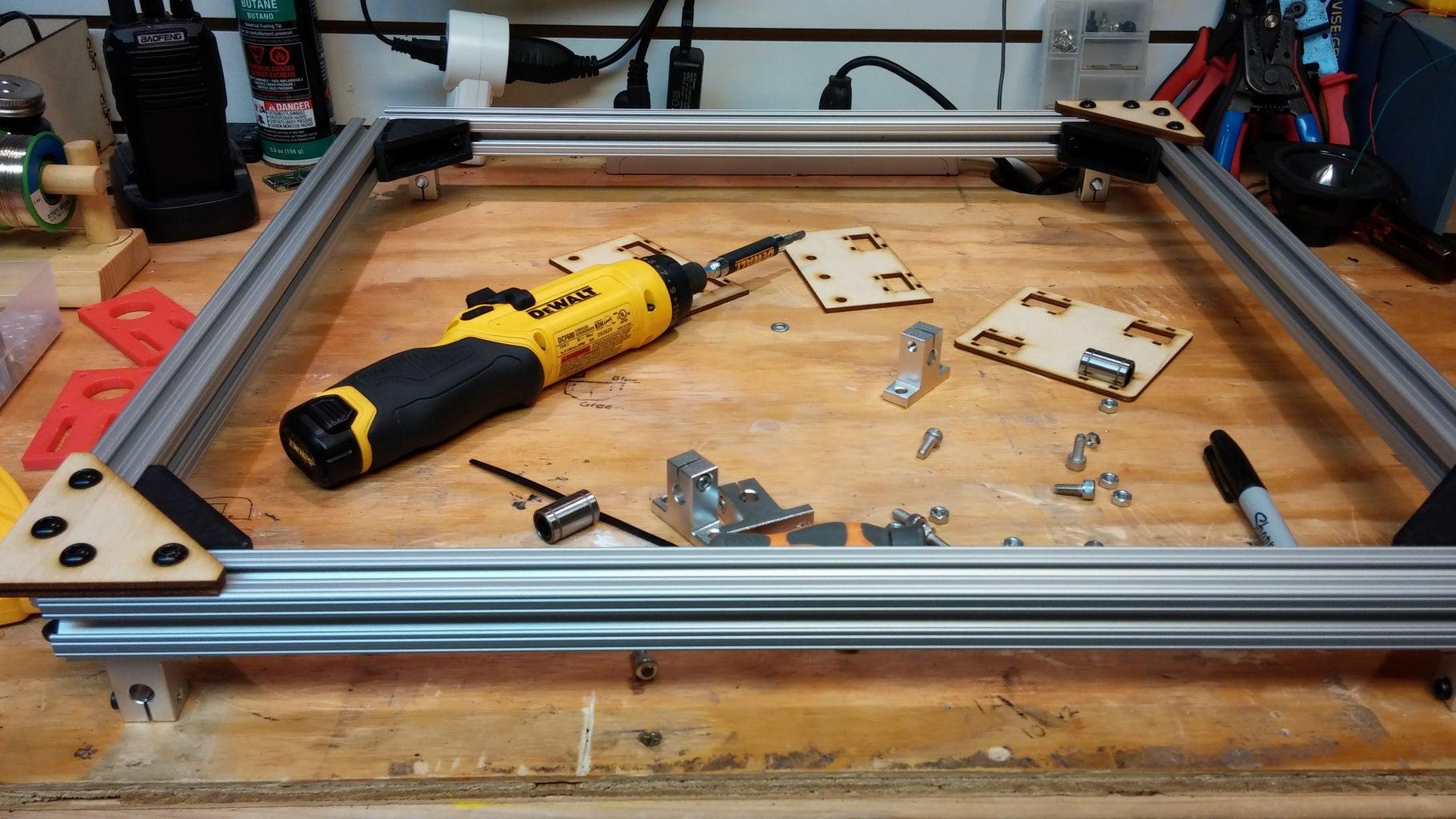 Assembling the Gantry