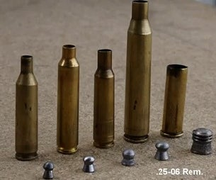 How to Fire an Airgun Pellet From a Centrefire Rifle