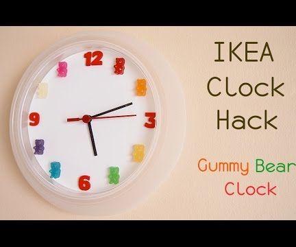 IKEA Clock Hack : Gummy Bear Clock