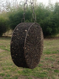From a MIG Welding Wire Spool to a Bird Feeder