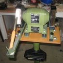 Sharpening jig for turning chisels