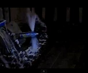 Silly String Can Explosion in Slow Motion at 600FPS